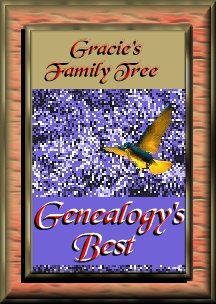 Gracie's Family Tree Genealogy's Best Award