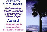 Palmetto State Roots Award